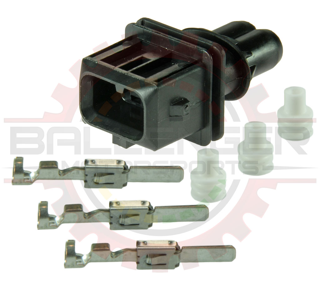 Home Shop Connectors Harnesses Bosch Type Ev1 Ford Wiring Terminal Kit Injector Connector Mate