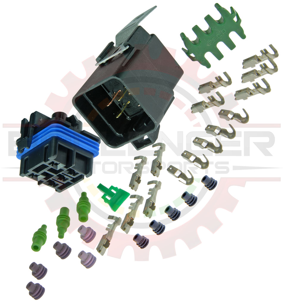 Delphi Metri-Pack 280 1-Wire 20 GA Sealed Connector Kit We Discount Shipping