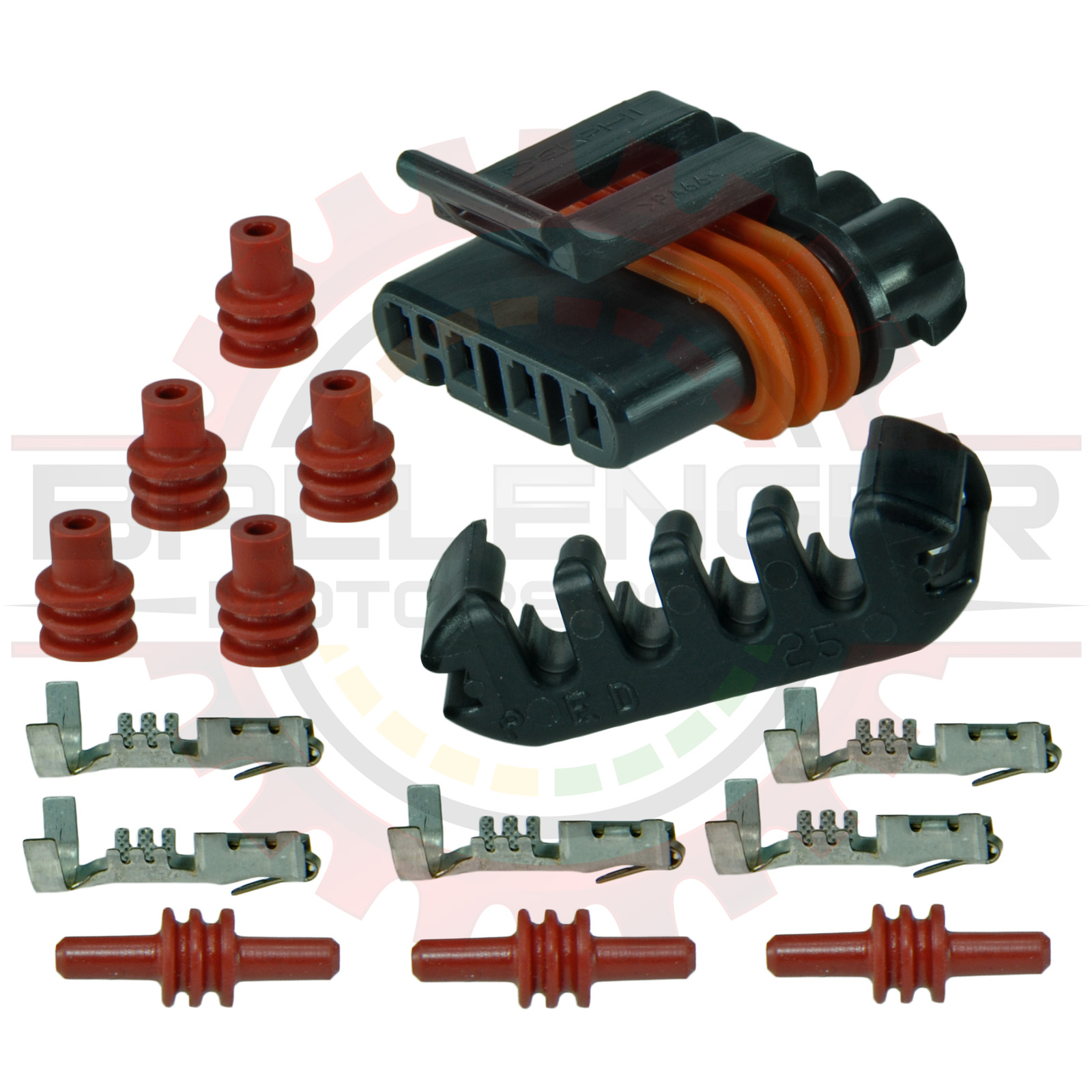 GM Delphi / Packard - 4 way Metri-Pack 150 Connector Plug Kit for GM  Alternator, Jaguar Ignition, Polaris Fuel Pump