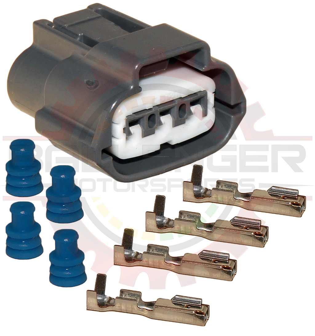 Nissan Wiring Connectors Library 3 Way Electrical Connection Diagram Plug Connector Kit For And Mazda Coils