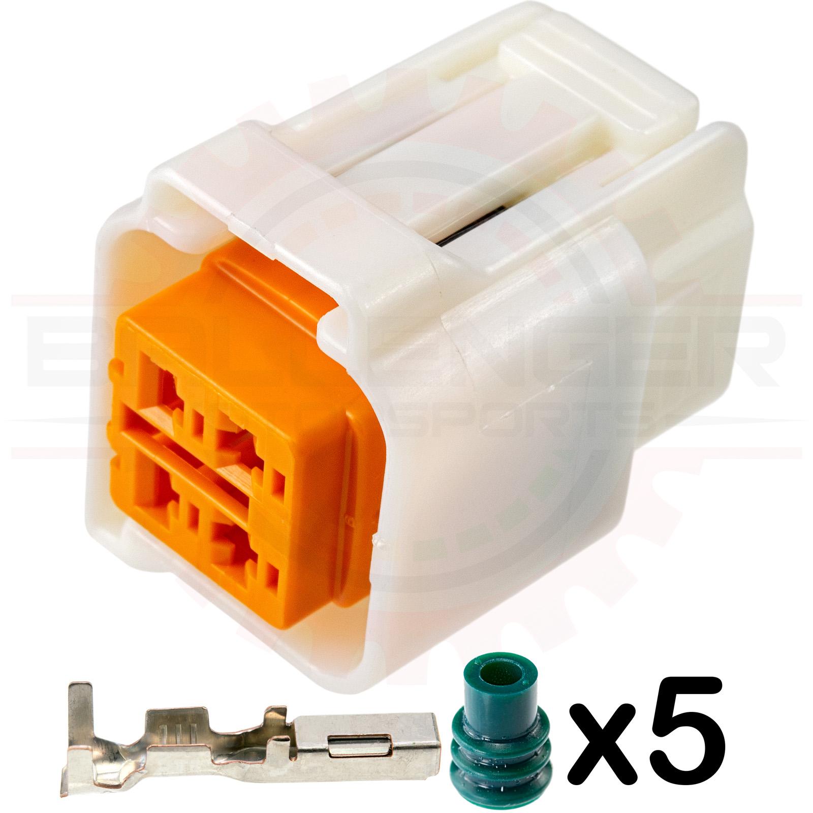 Home Shop Connectors Harnesses Sumitomo 4 Way Mazda Fuel Infiniti G37 Pump Connector Plug Kit