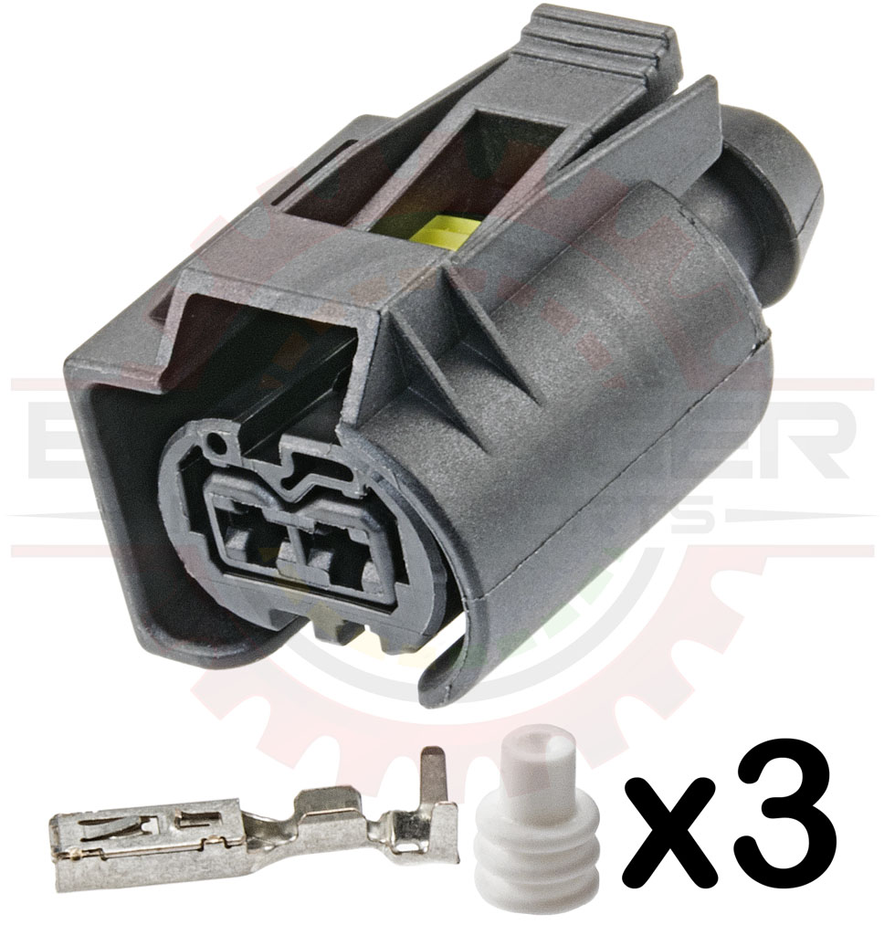 2 Way Bosch Temp Sensor for Ecodiesel & Mercedes Diesel Fuel Injector  Connector Kit for Sprinter and other Applications