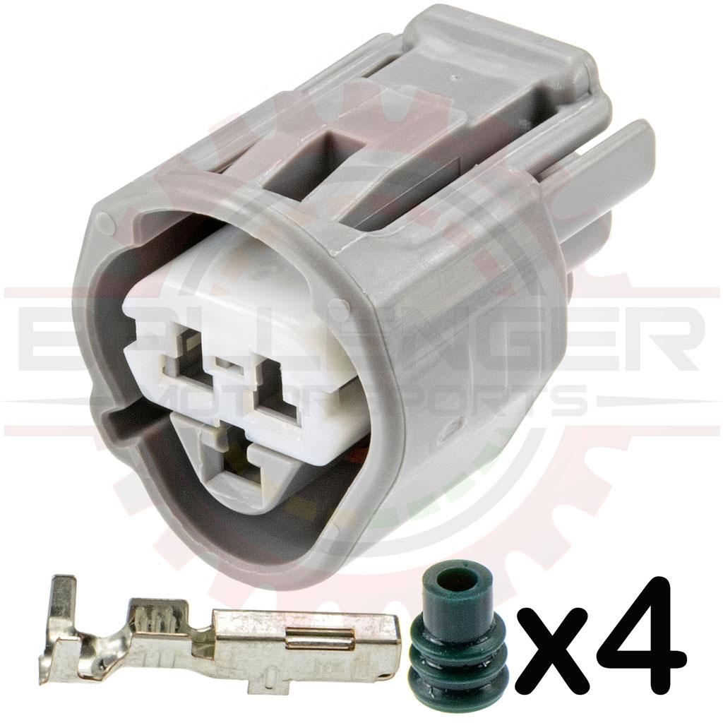 3 Way Toyota ECT, CLT, & Temperature Sensor Plug Connector Kit (Toyota #  90980-11451)