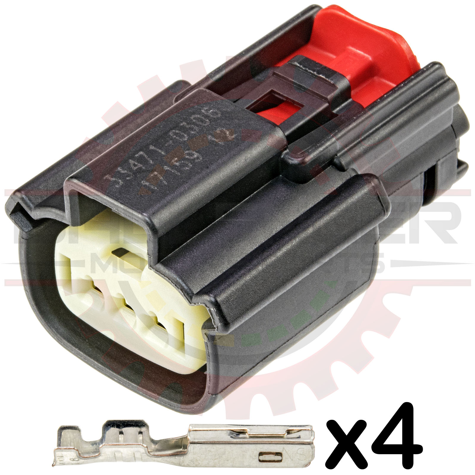 Home Shop Connectors Harnesses Ford Epc 3 Way Interceptor Utility Wiring Harness Kits Mazda Ignition Coil Sensor Connector Kit