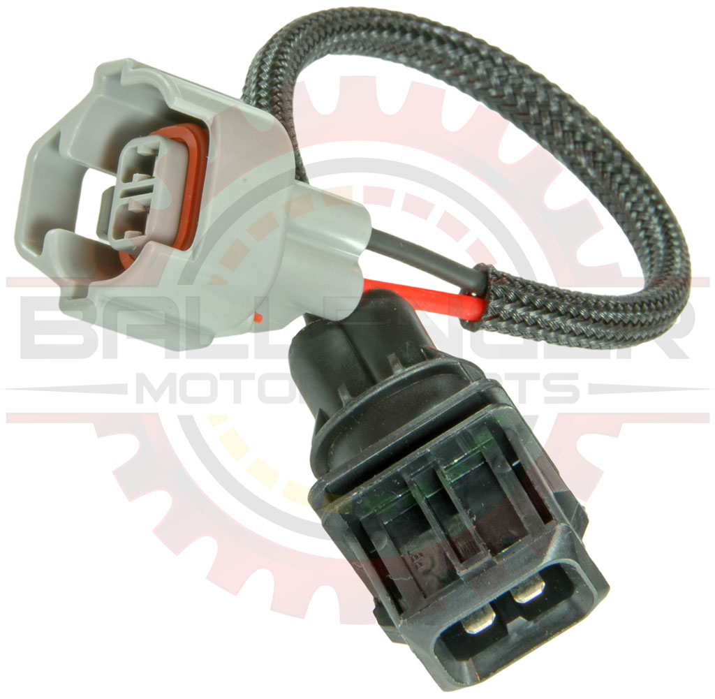 Nippon Denso to EV1 Injector connector adapter - 6 inch