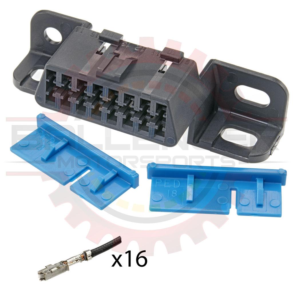Home » Shop » Connectors / Harnesses » OBD II » OBDII Plug (car-side ...