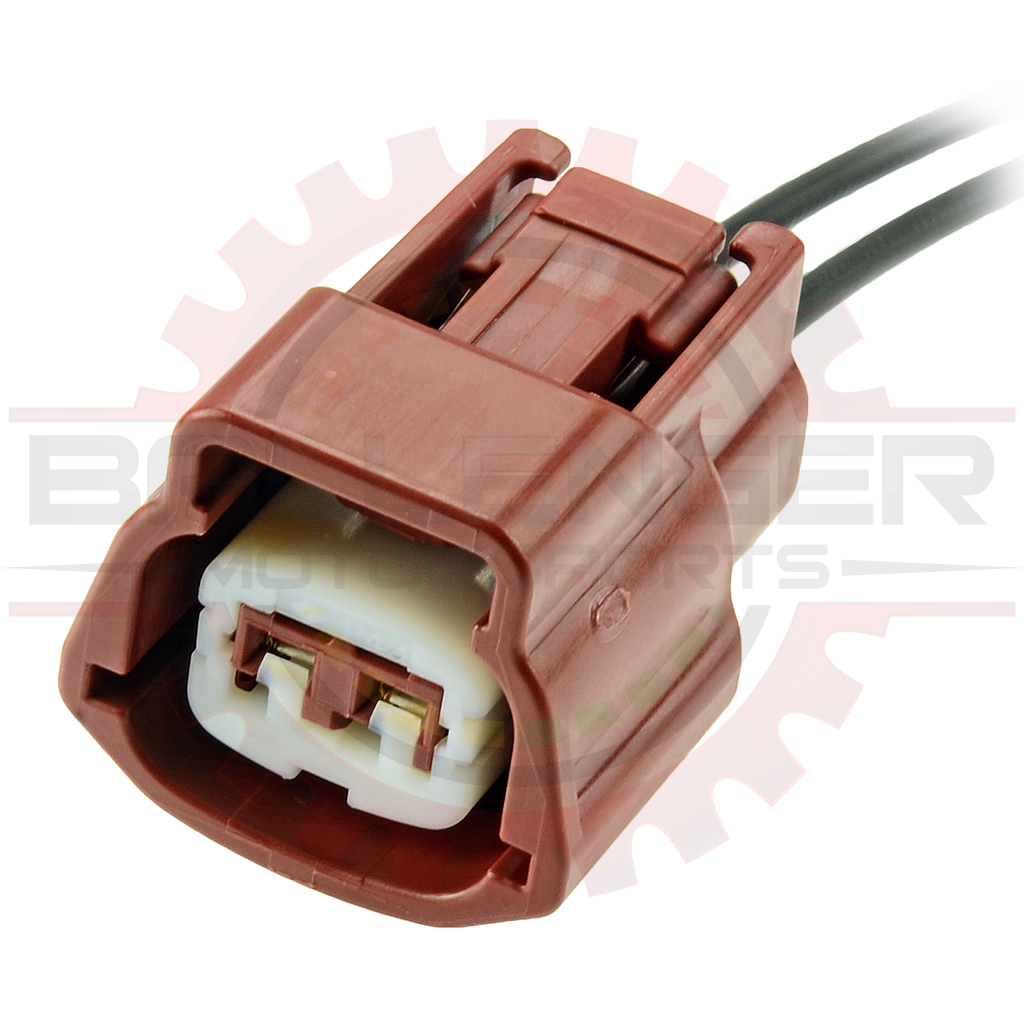 2 Way Japanese Solenoid Connector Pigtail for Miata VICS (Nissan #  E02FBR-RS)