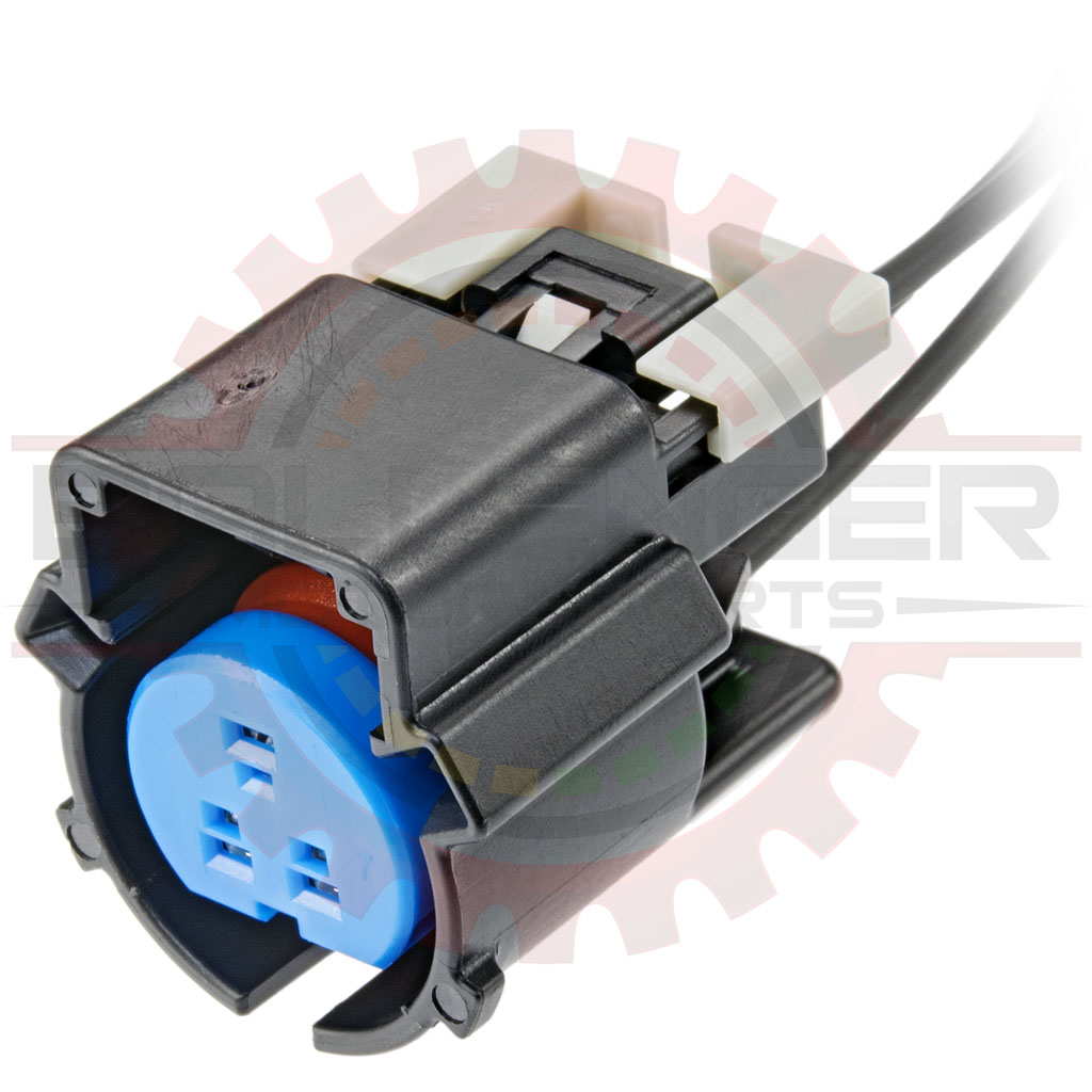 3 Way GM LS Oil Pressure Connector Plug Pigtail, Black