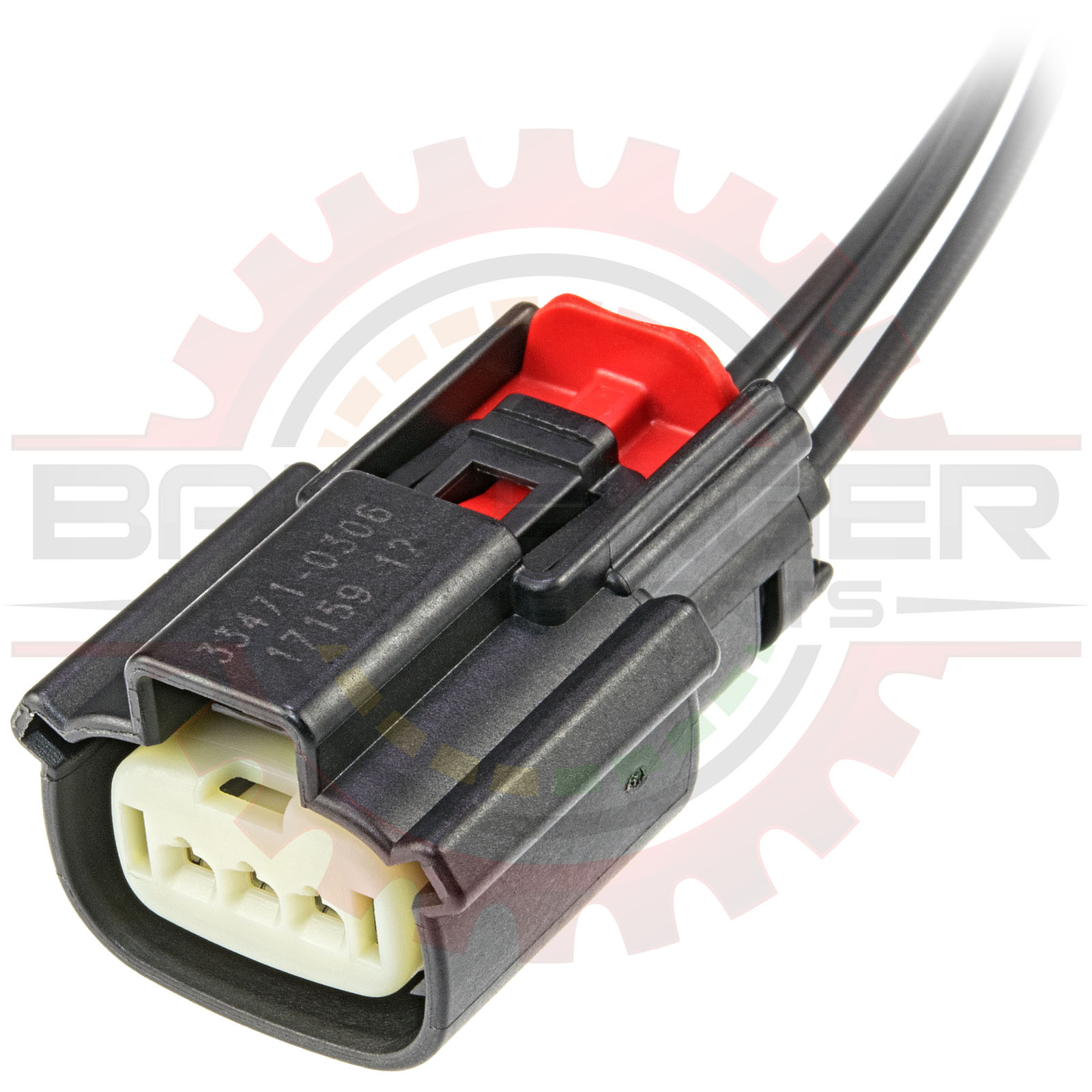 ford wiring connectors home shop connectors harnesses ford epc 3 way ford classic ford wiring connectors epc 3 way ford
