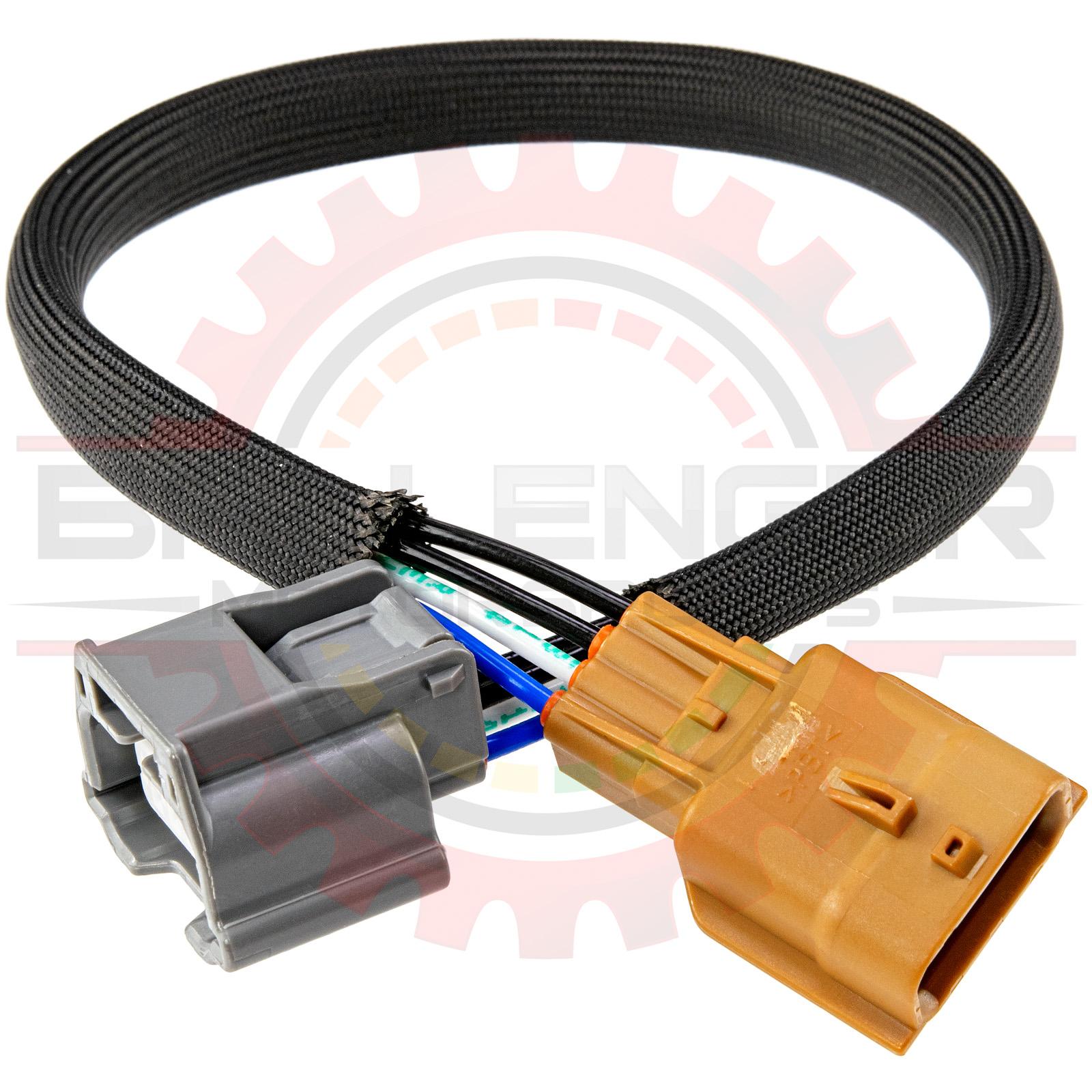 home » shop » connectors / harnesses » yazaki » 4 way low keyway nissan  oxygen sensor connector extension for 370z, titan  ballenger motorsports