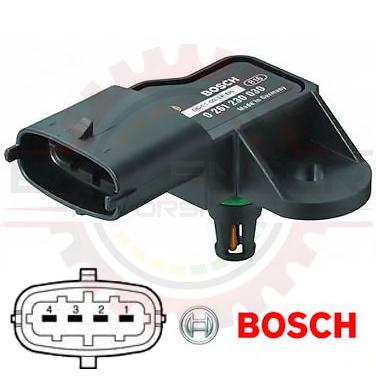 home shop sensors pressure sensors bosch 3 bar tmap map bosch 3 bar tmap map sensor iat