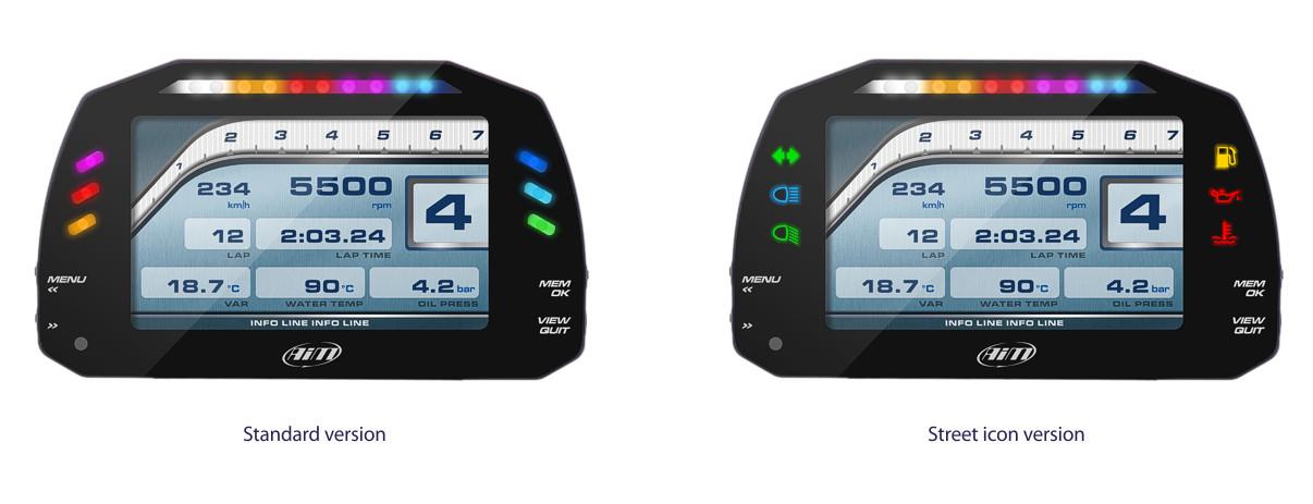 Home » Shop » Data Logging/Dash Systems » MXS » AiM MXS Strada Dash