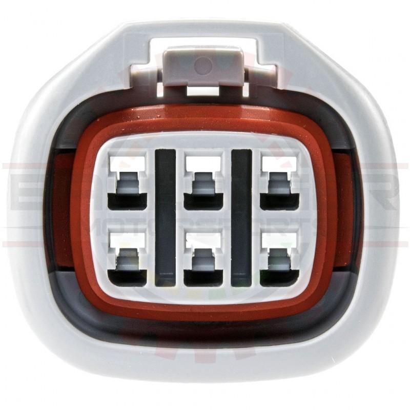 6 Way Toyota Connector Plug for IAC, ISCV, and EGR Valves