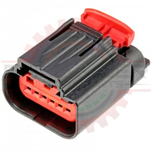 Ford/Mazda 6 Way with keyway for DBW Throttle Body Connector Plug