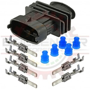4 Way Sealed Receptacle Bosch BSK Connector Kit for Bosch MAP Sensor
