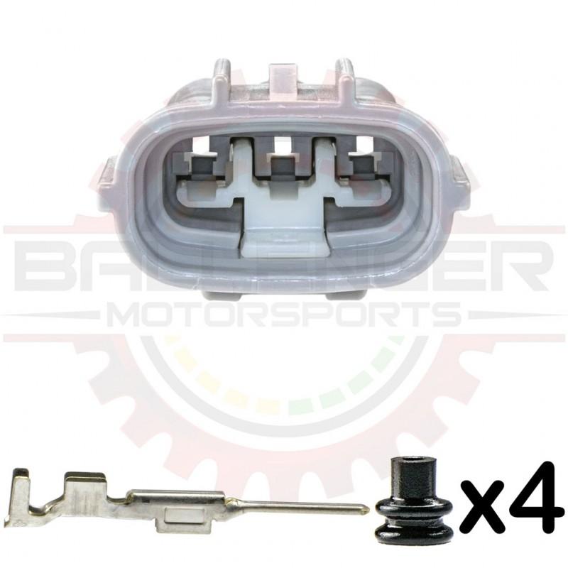 Sumitomo TS 3 Way Alternator Receptacle Kit, (Toyota # 90980-11348)
