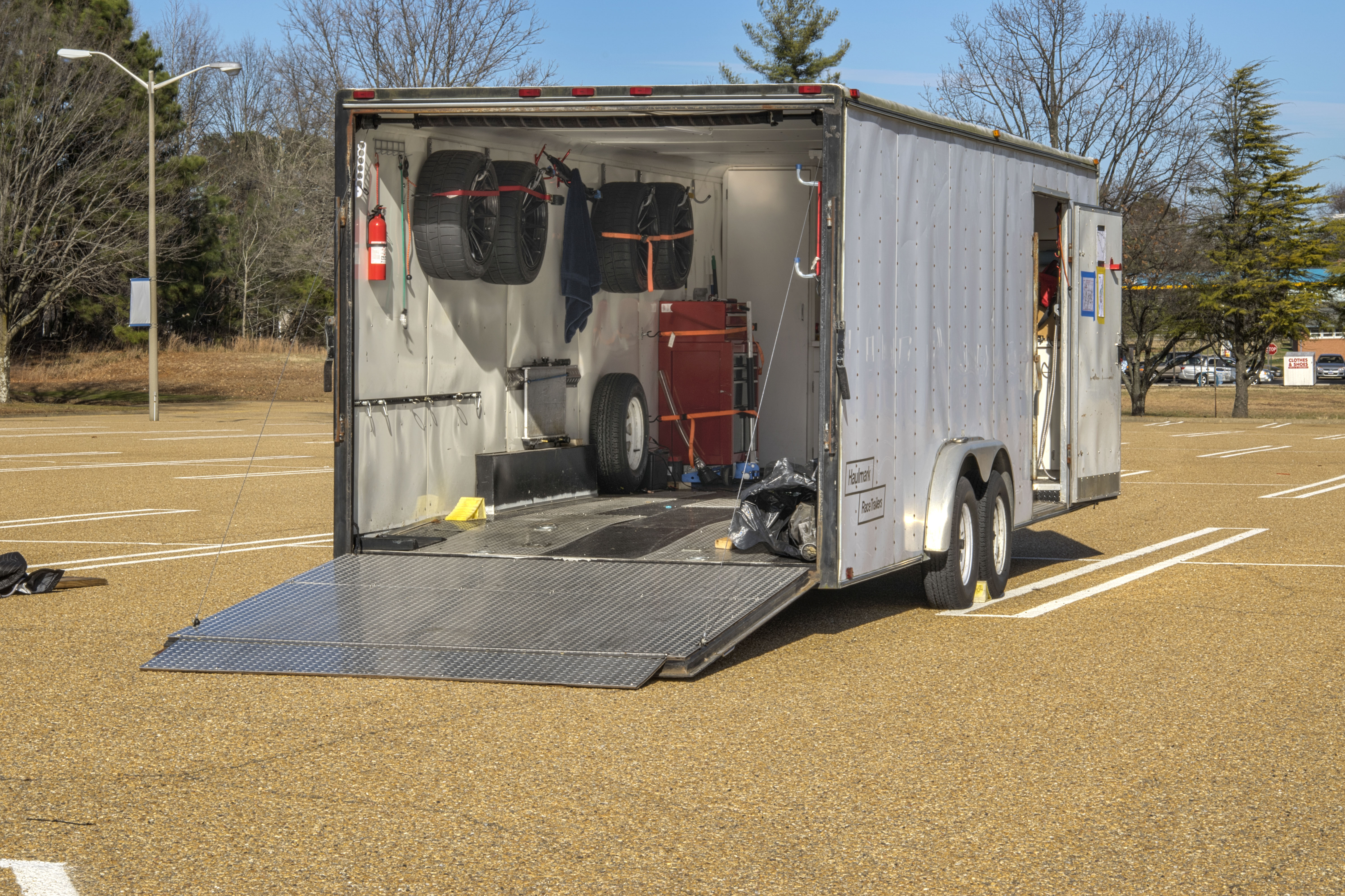 Wiring Diagram Haulmark Trailer : Haulmark  enclosed trailer mechanicsville