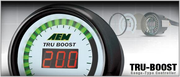 AEM TRU-BOOST Gauge-Type Controller w/Sensor - PN 30-4350