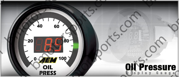 AEM Pressure ( Oil, Fuel ) Gauge - PN 30-4401